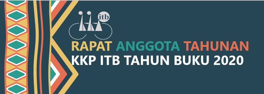 RAPAT TAHUNAN KKP ITB TAHUN BUKU 2020